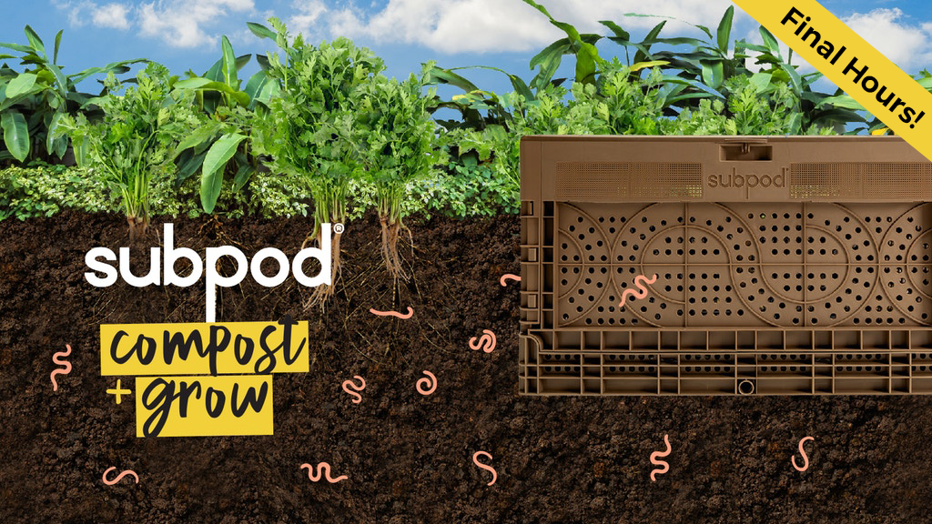 Meet Subpod Grow: Turn Food Waste Into Greenspace project video thumbnail