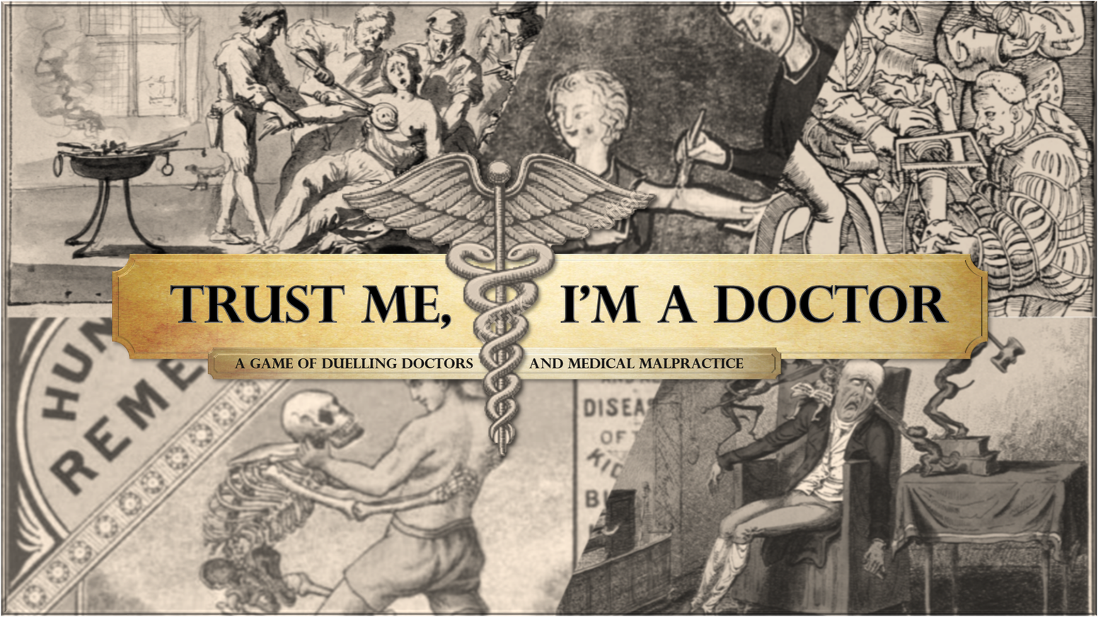 Become a doctor in the 1800's, drunk as hell and curing plague and blood ghosts with cocaine and amputations!