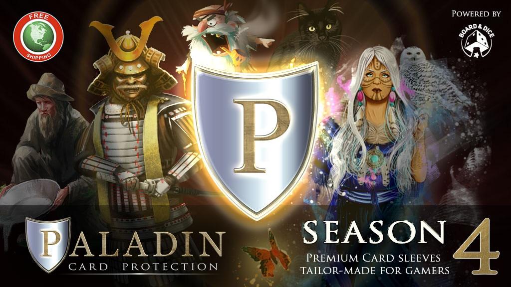 Paladin Card Protectors: Season 4 project video thumbnail