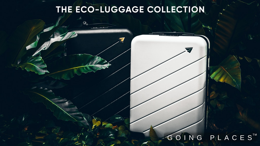 Going Places Eco-Luggage - A Better Way to See The World project video thumbnail