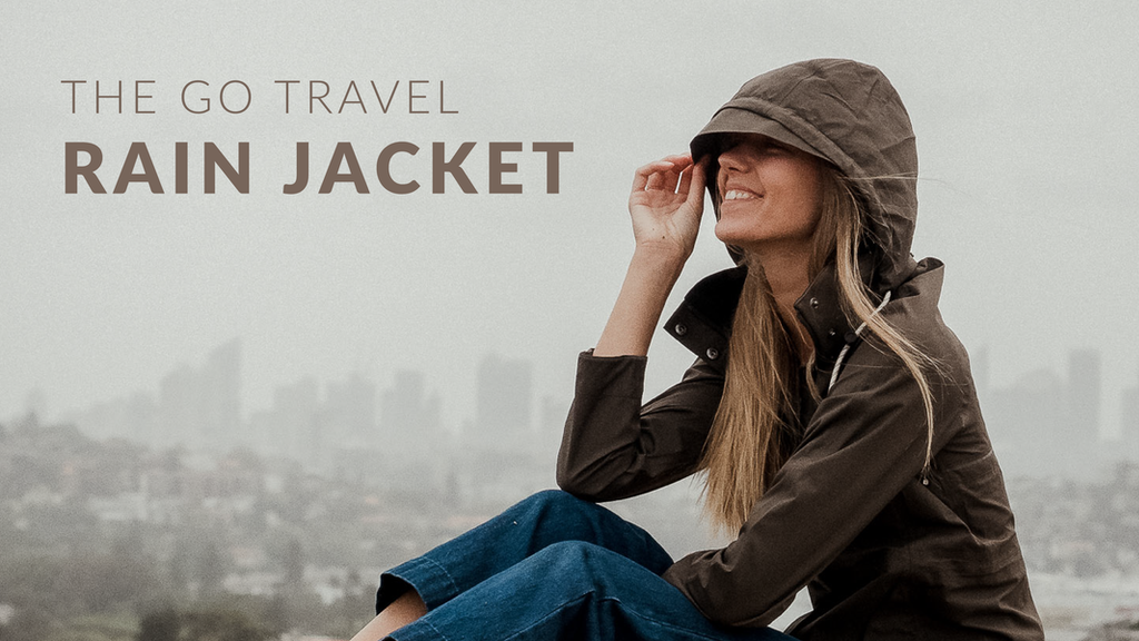 The Ultra Lightweight Go Travel Rain Jacket project video thumbnail