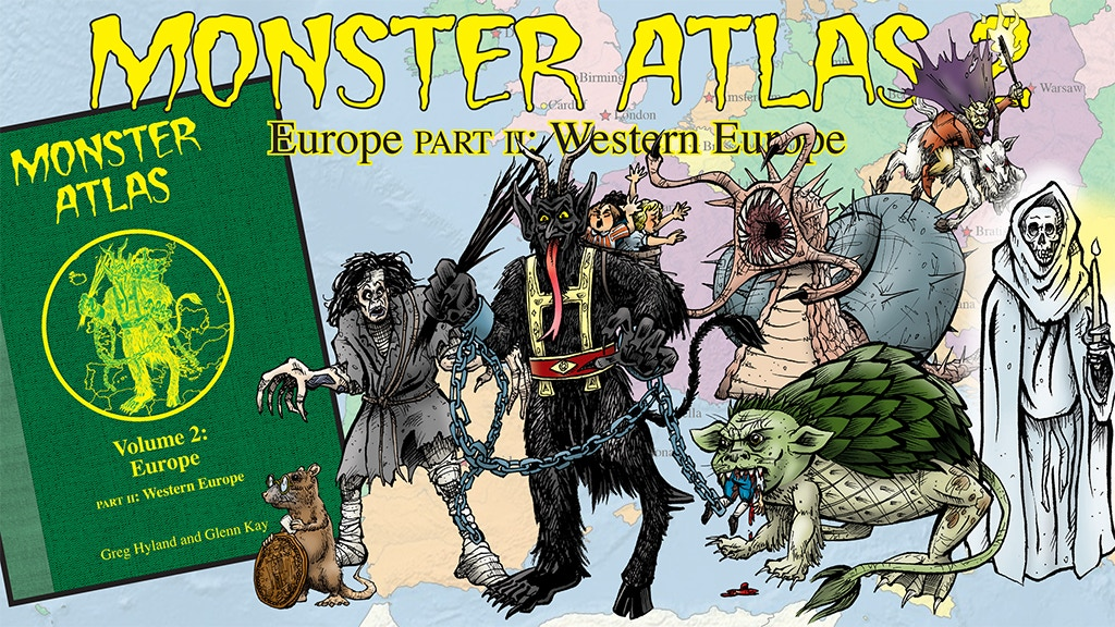 Monster Atlas Volume 2 Part 2: Western Europe project video thumbnail