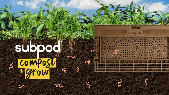 Team up with nature and be a food waste warrior. This waste busting, food growing powerhouse makes it fun and easy.