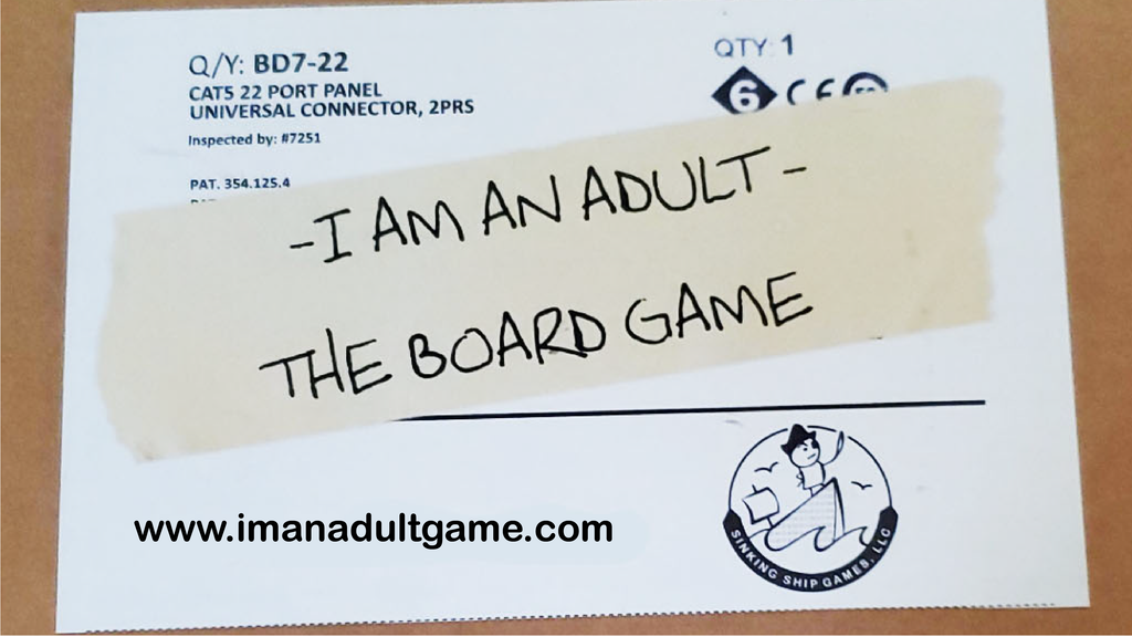 I Am An Adult The Board Game project video thumbnail
