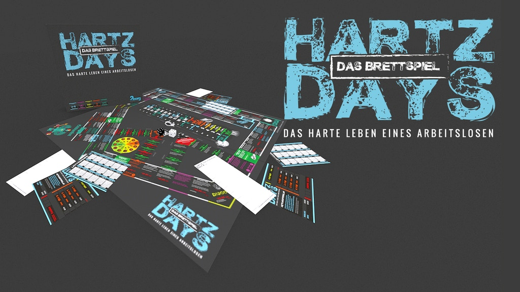 Project image for Hartz Days - Das Brettspiel