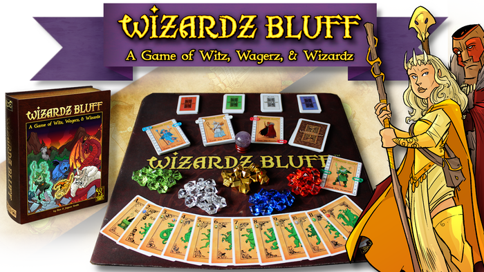 An epic Wizard's duel to win gold and Spellstones. Grow your Wizard's Elemental powers and gain new spells to bluff your opponents
