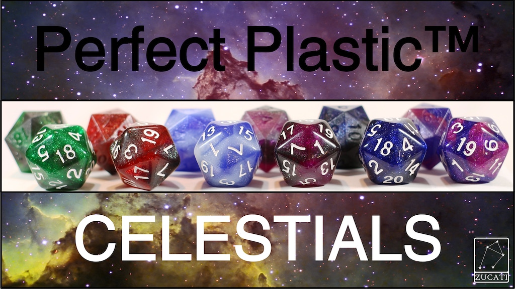 Project image for Zucati Dice Perfect Plastic™: Celestials