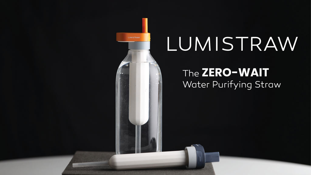 LUMISTRAW | Instant Water Purification now Simple as a Sip project video thumbnail
