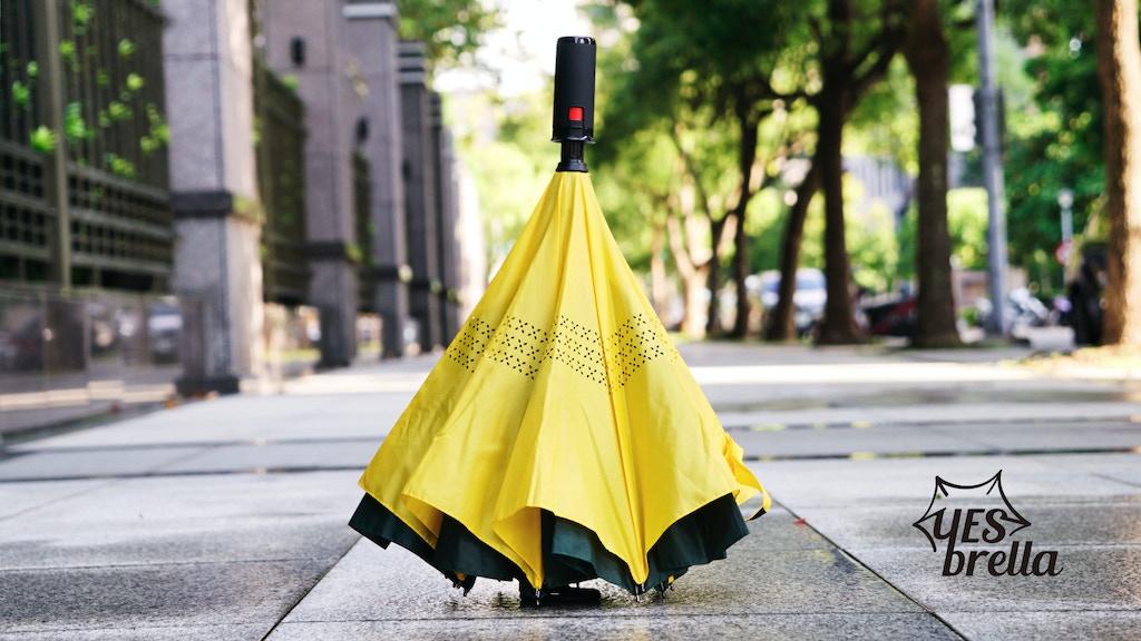 YESbrella - The Mini Reverse Umbrella Like No Other project video thumbnail