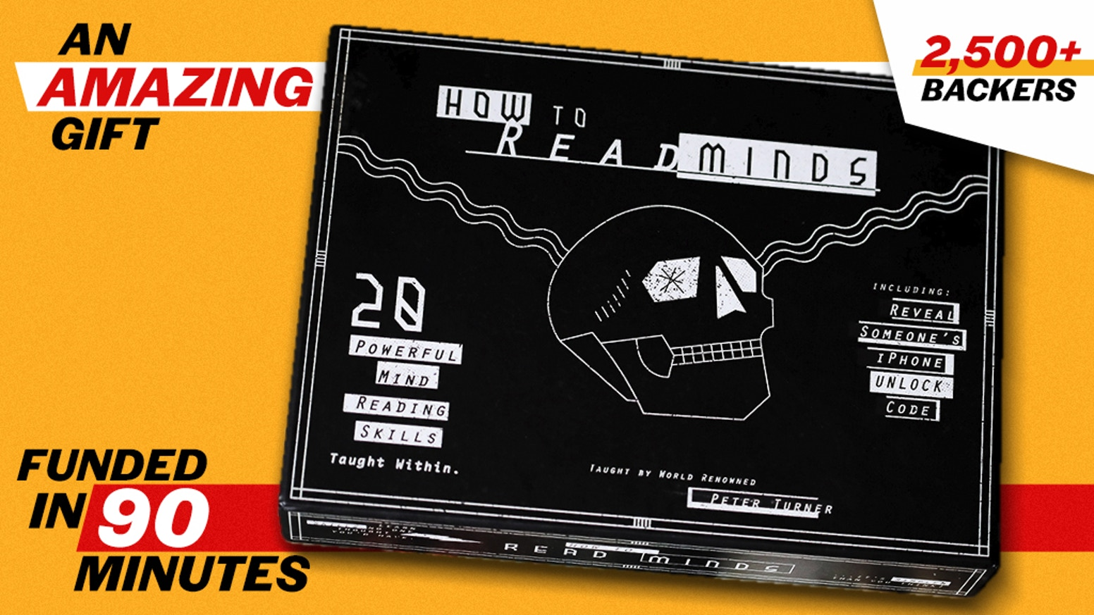How To Read Minds KIT: Ellusionist x Peter Turner by Ellusionist ...