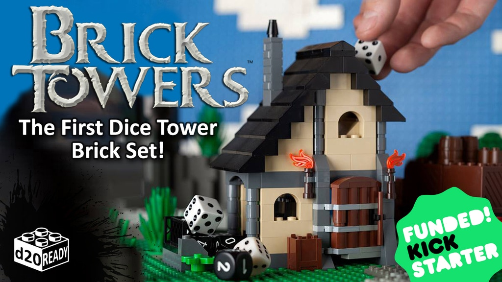Dice Tower Brick Set project video thumbnail