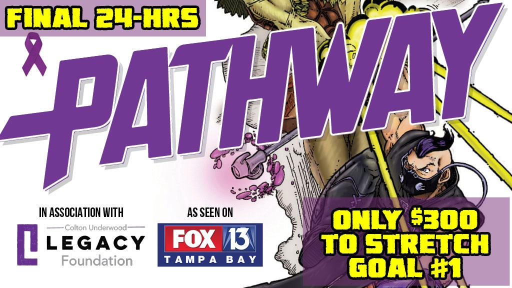 Pathway CF Superhero Issue #1 - Comics For a Cause project video thumbnail