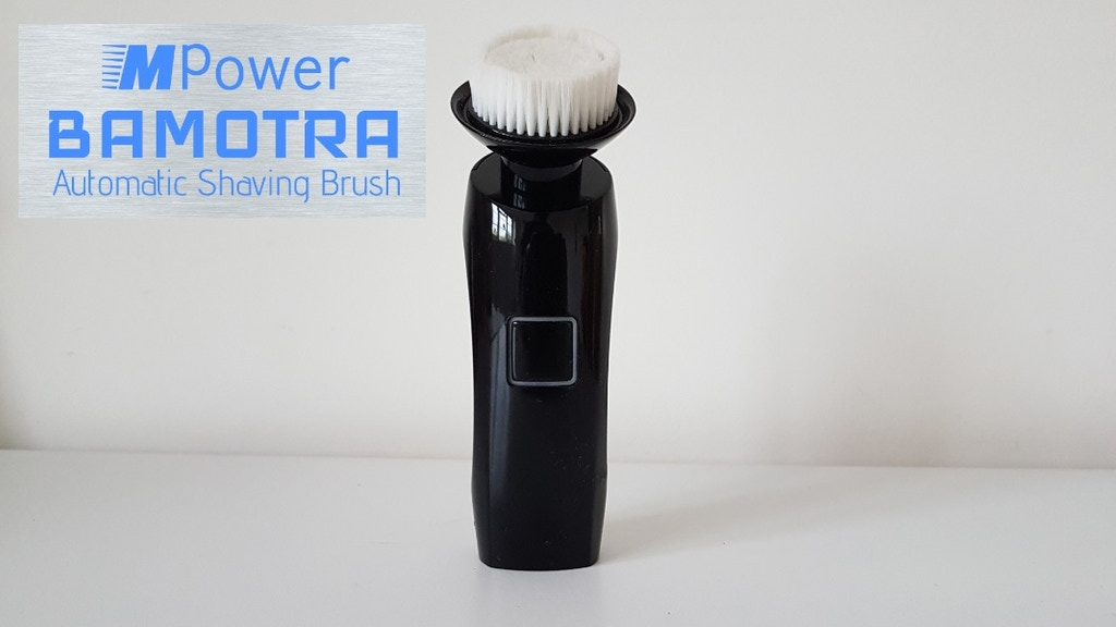 M-Power Automatic Shaving Brush, shave better, save money!