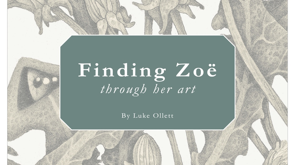 Finding Zoë Through Her Art project video thumbnail