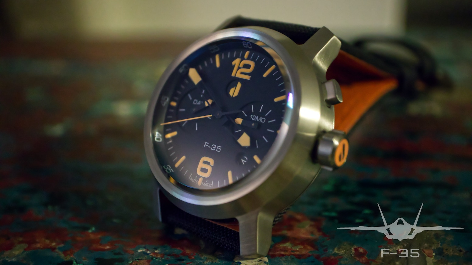 Bold, yet uniquely exquisite aviation styled automatic watches which are hard wearing, affordable and reliable timepieces.