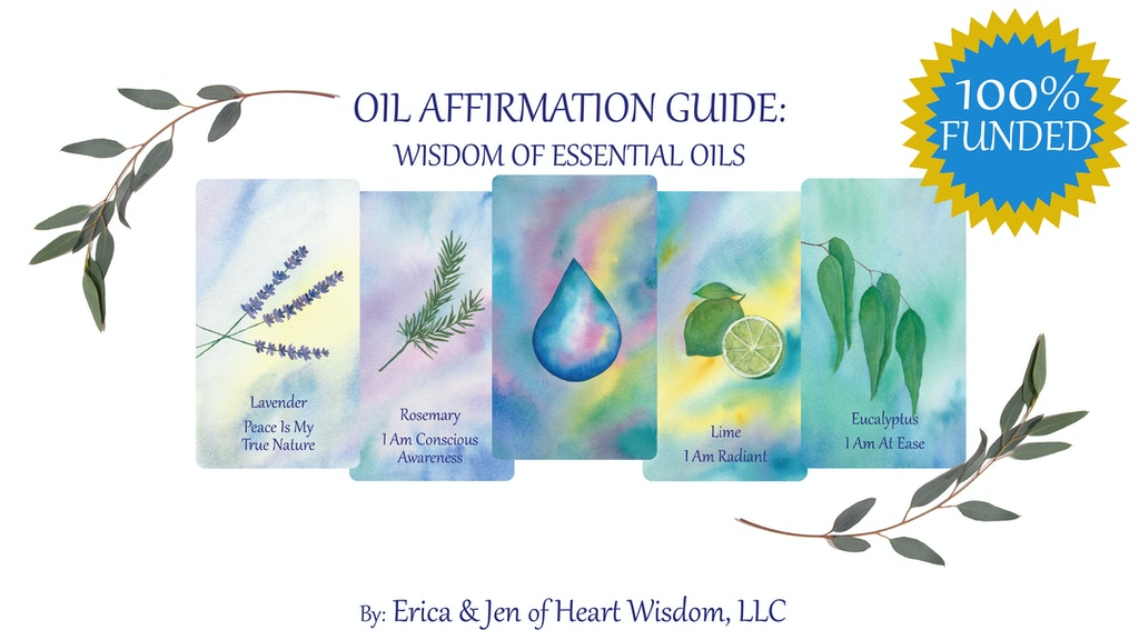 Oil Affirmation Guide // Deck & Guidebook project video thumbnail