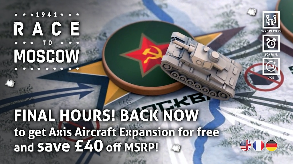 1941 Race To Moscow By Phalanx Kickstarter