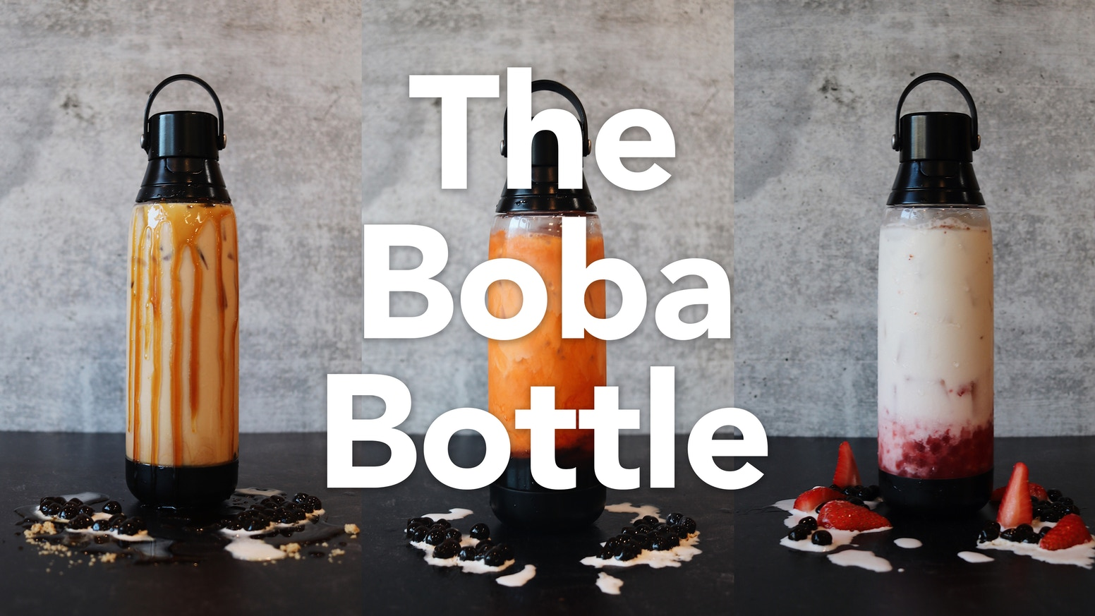 A spill-proof, hygienic, & shatter-resistant reusable boba cup designed for your convenience. Choose #sustainaboba.
