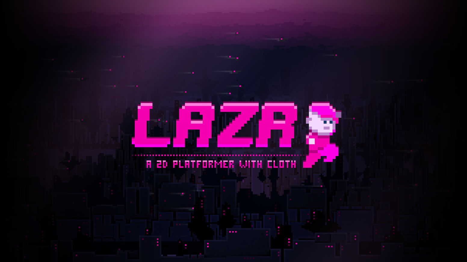 Lazr is a unique, skill-based, physics-enhanced 2D platformer with cloth simulations in a cyberpunk world. Coming to PC, Switch + more!