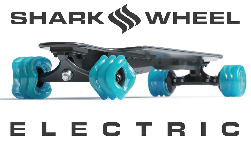 Shark Electric Skateboard - World's Thinnest project video thumbnail