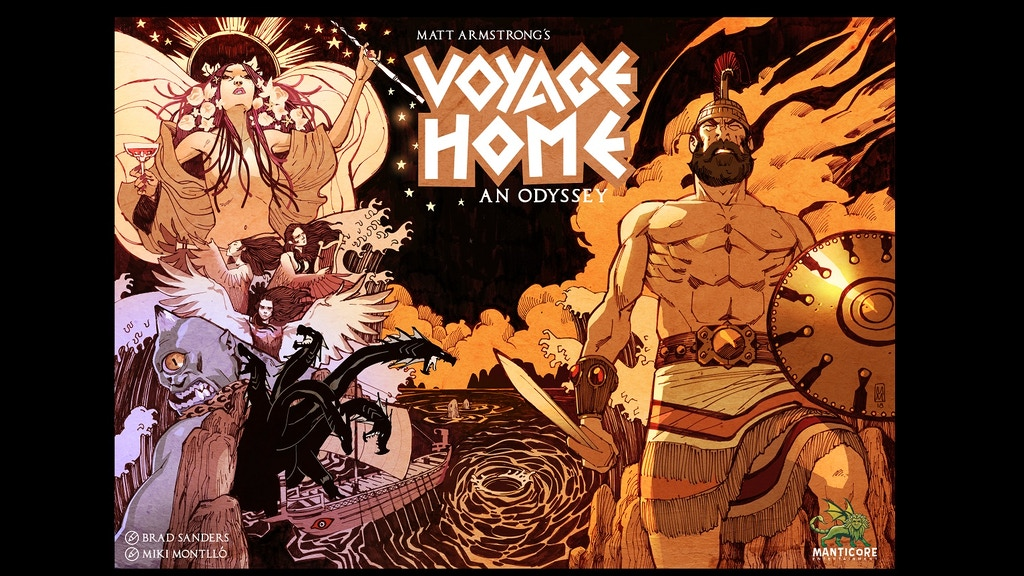 Make/100 Voyage Home: An Odyssey project video thumbnail