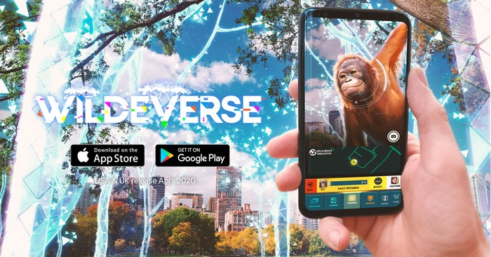 Enter the Wildeverse and track real wild animals in your own neighborhood. In app stores now!