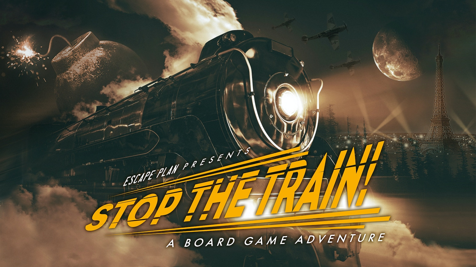 A thrilling board game adventure on a runaway train headed for Paris! Can you identify the Saboteur in your midst and avert disaster? Preorder from July 14th 2020