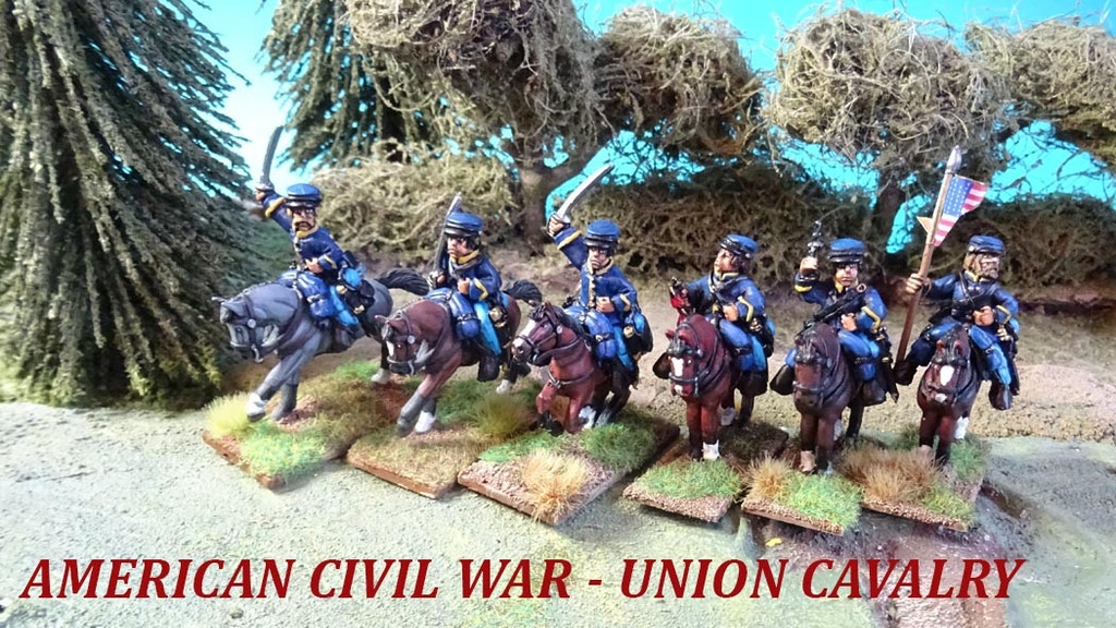 Project image for 28mm - ACW - CONFEDERATE CAVALRY