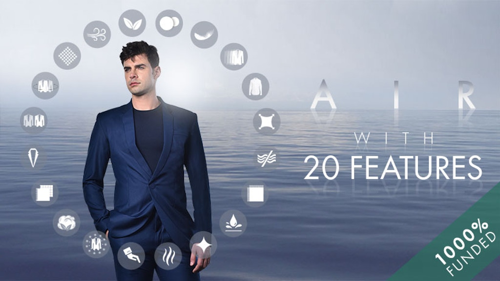 AIR : Futuristic Breathable Blazer with 20 Features project video thumbnail