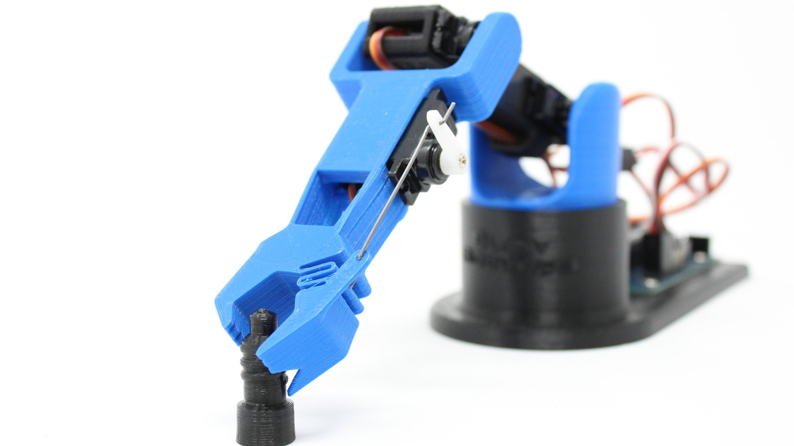 A 3D Printed DIY Arduino Robot Arm Kit for STEM Education and Garage Hobbyists