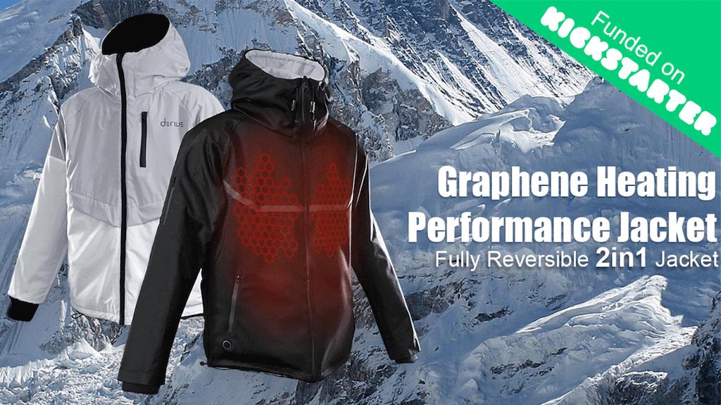 Derive   Multi-function Graphene Heating Performance Jacket project video thumbnail