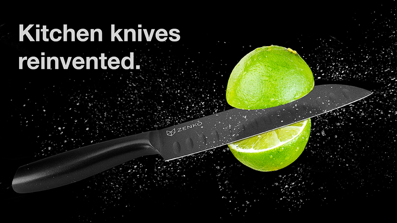 ZENKO Fusion knives seamlessly blend aesthetics and functionality. A minimalistic design, combining Japanese Steel with Ceramic Coating.