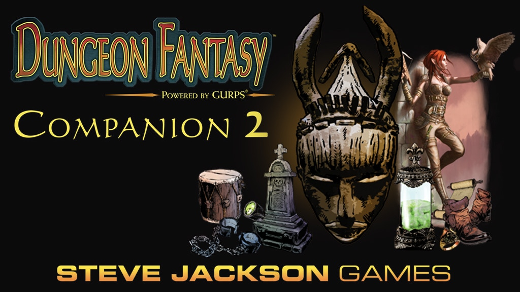 Project image for Dungeon Fantasy Companion 2, Powered by GURPS