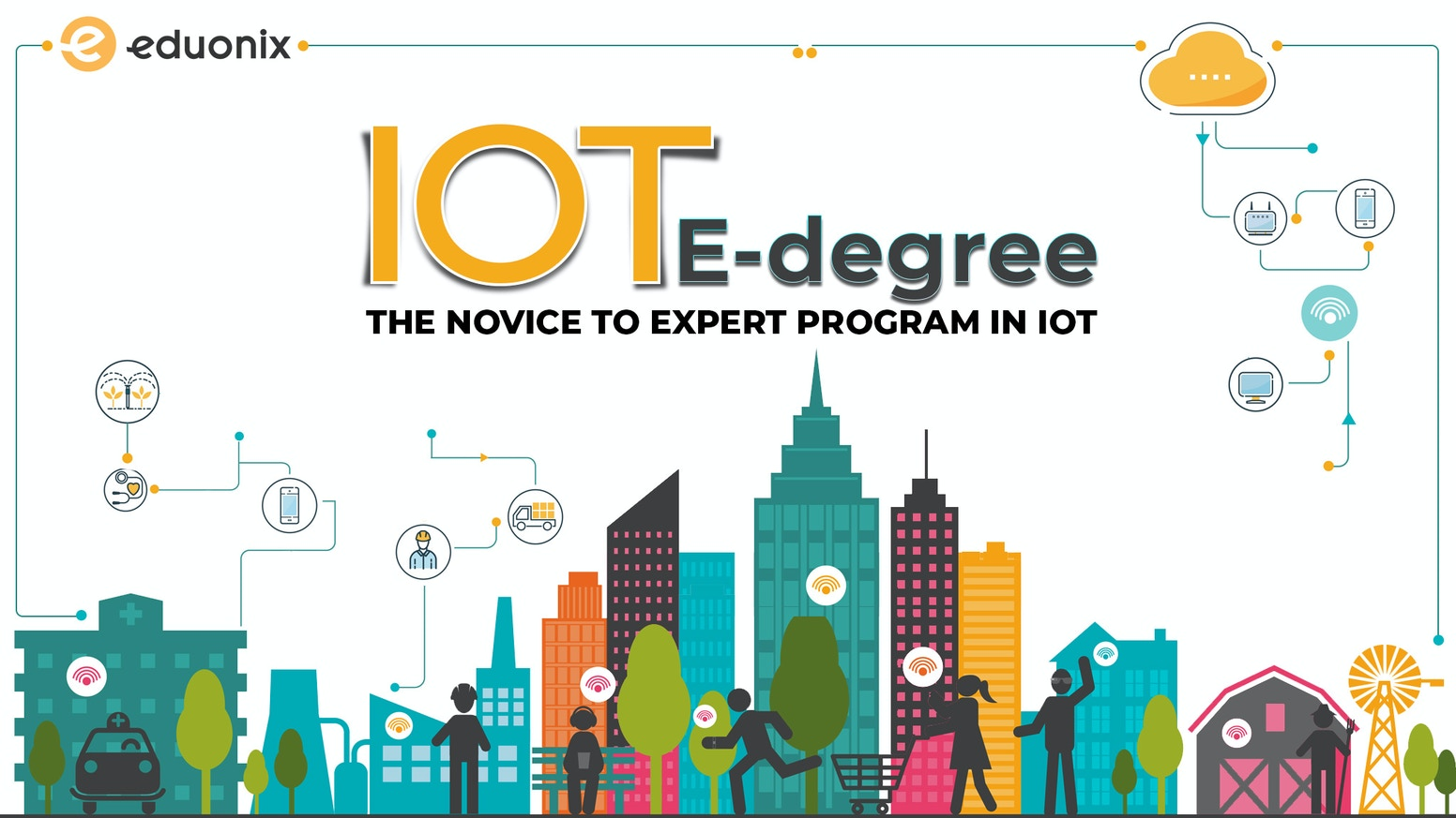 Learn both the software and hardware concepts of the Internet of Things in this Comprehensive IoT E-Degree Program.