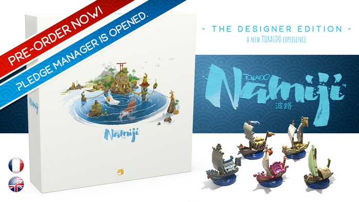 A new stand-alone game brought to you by Antoine Bauza, still featuring Naïade's outstanding artwork! PRE-ORDER IT NOW!