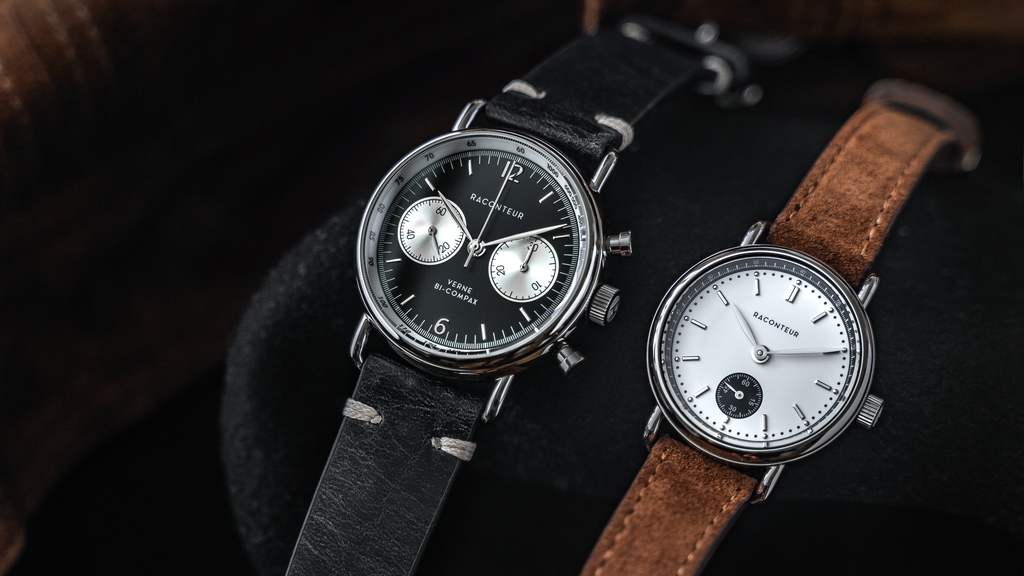 RACONTEUR - Swedish Designed Mechanical Watches project video thumbnail