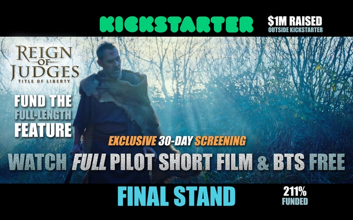 Watch our FULL Pilot Short Film and BACK US TODAY at ReignMovie.com click the green button below!