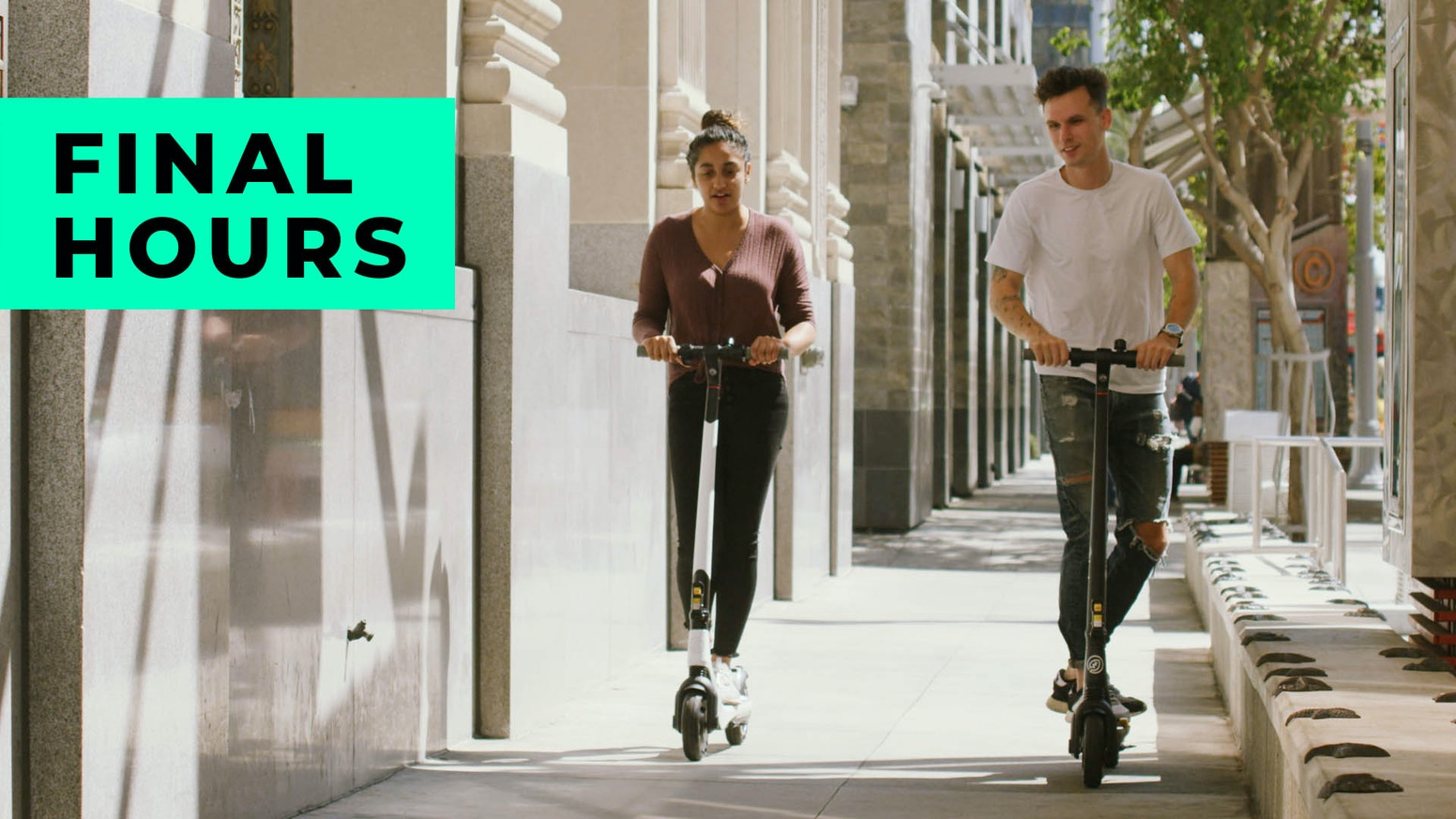 The electric scooter designed with experience and engineered for peace of mind.