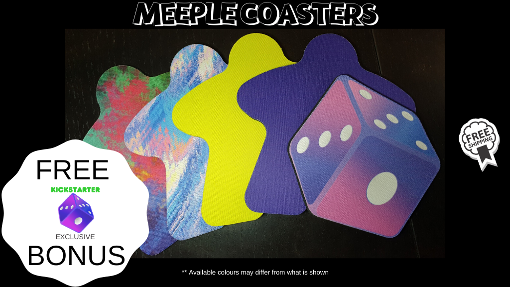 Project image for Meeple Coasters