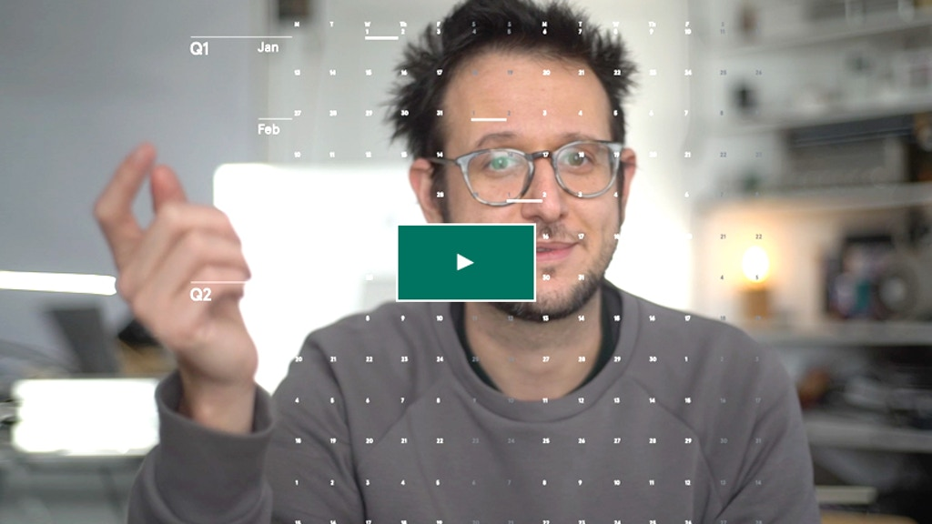 A Hyper Minimal Calendar for 2020 project video thumbnail