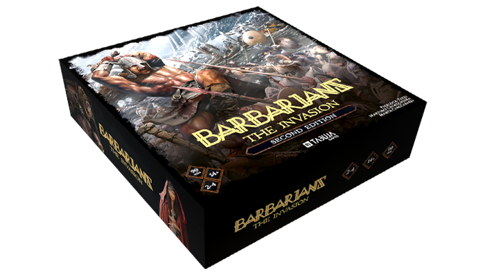 Become the warlord of a barbarian clan and guide them to the invasion of the lands of Thunmar!