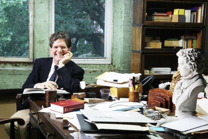 Luke Pontifell in his office.