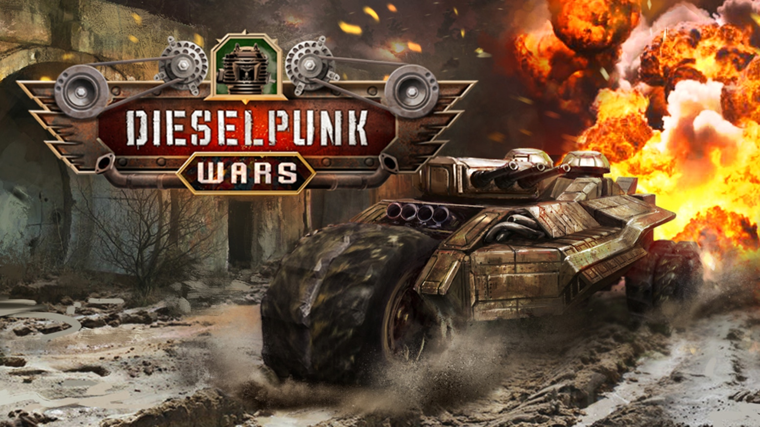 Vehicle building game, focused on combat with advanced physics and  damage simulation. Use over 250 elements to build a war machine of your  dreams. Construct vehicles that ride on the ground, soar through the  skies, or dive underwater.