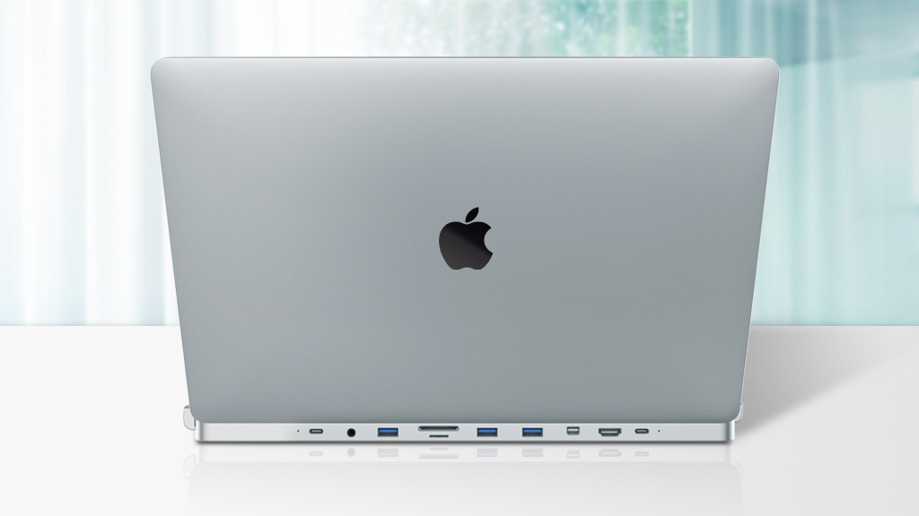 Meet your Macbook Pro's trusty sidekick, the invisible hub!