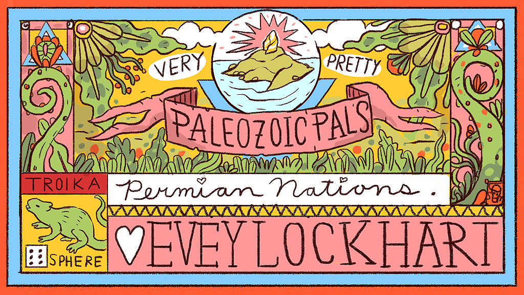 Project image for Very Pretty Paleozoic Pals: Permian Nations