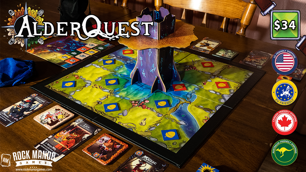AlderQuest - A Wintry Mix of Area Control and Match-3 project video thumbnail