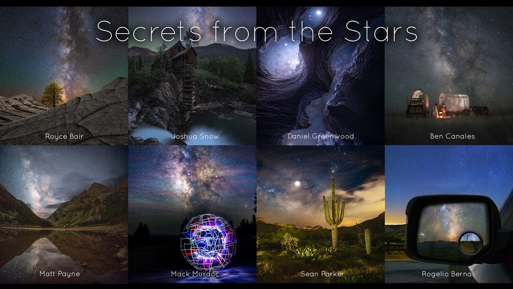 Secrets from the Stars project video thumbnail