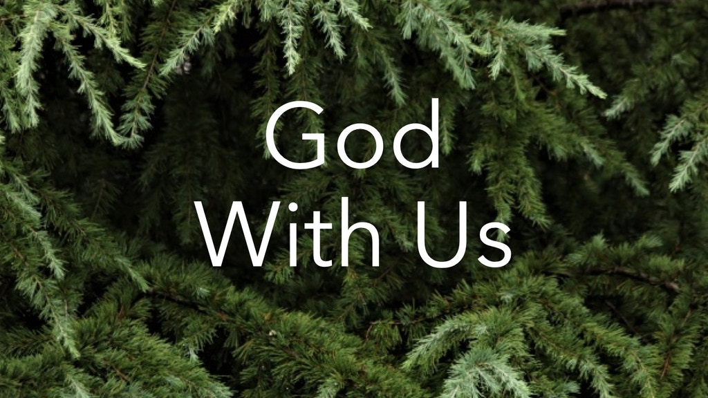 God With Us project video thumbnail