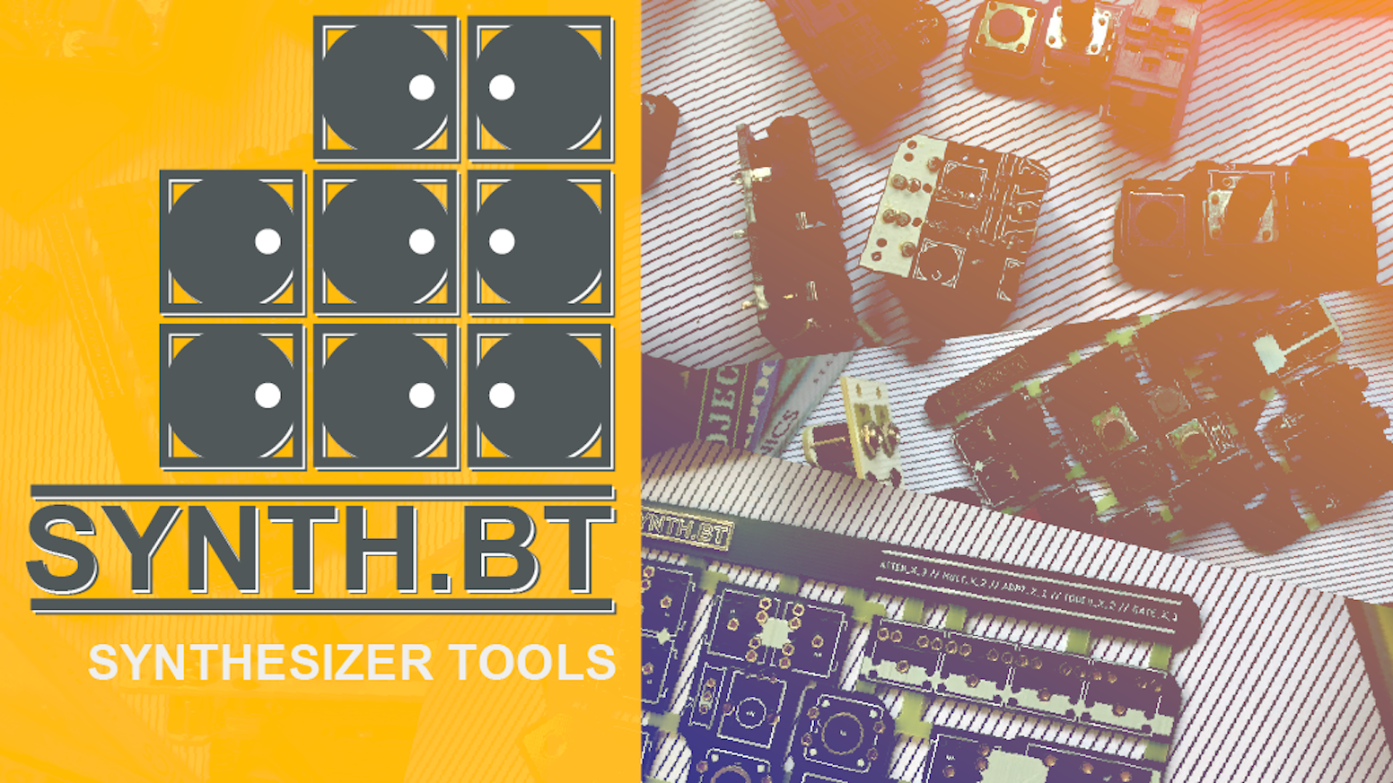 Good-looking passive synthesizer tools for your modular setup