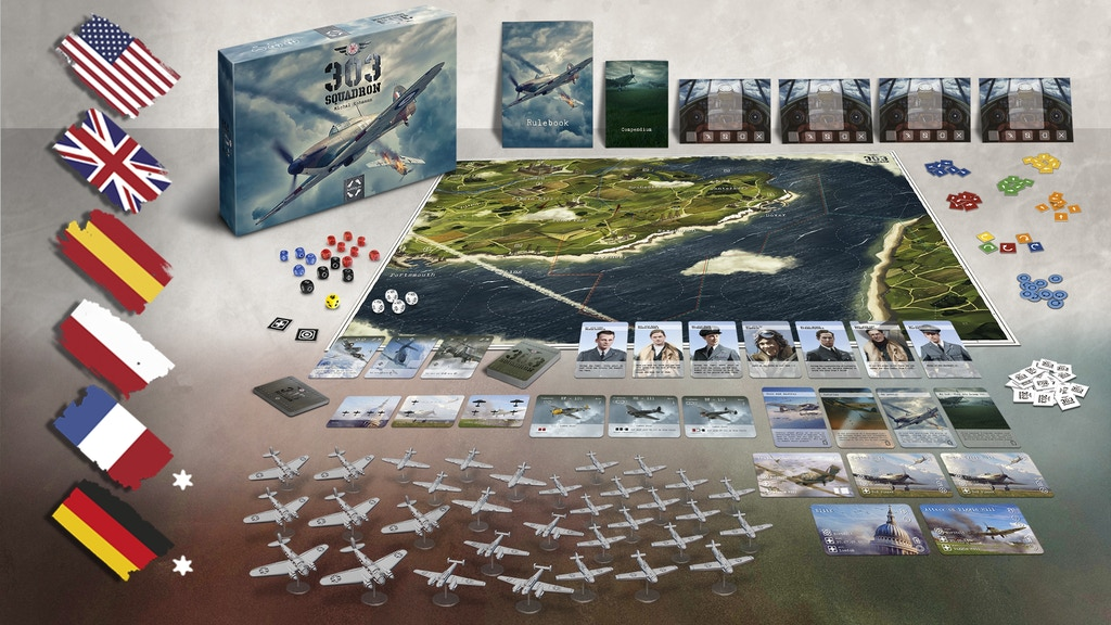303 Squadron Board Game project video thumbnail